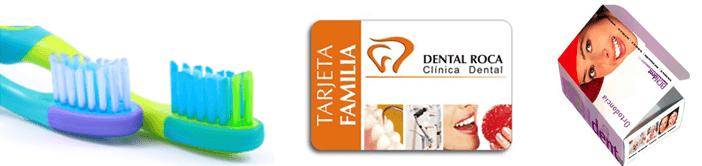 Artículos de promoción y tarjetas cliente