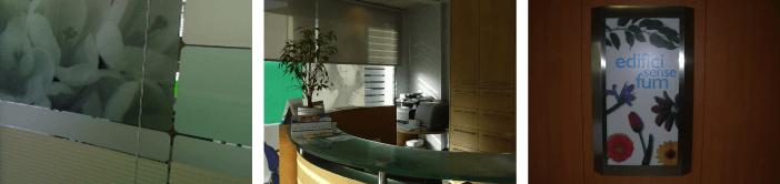 Señalética e interiores para clínicas dentales