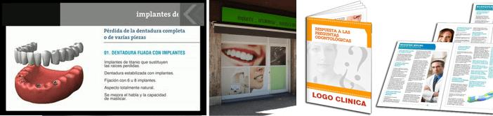 Videos, publicidad y folletos para tu clínica dental