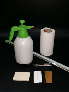 Herramientas necesarias para montar vinilo