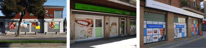 Decorados exteriores clinica dental