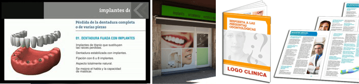 Videos i publicitat per a la seva clínica dental