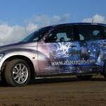 Adhesivo de corte e impreso vehículos