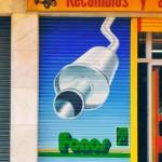 Diseño pintura publicitaria