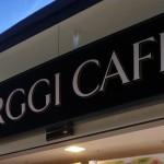 Rótulo luminoso Farggi Cafe