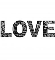 VI02002 Love fondo negro