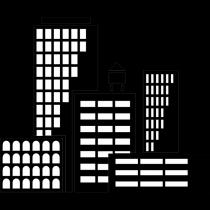Vinilo decorativo Edificios